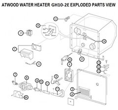 Atwood Water Heater Model GH10-2E Tune-Up Kit