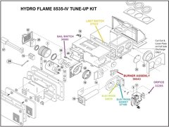 Atwood / HydroFlame Furnace Model 8535-IV Tune-Up Kit