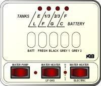 Kib Electronics Monitor Panel Model M25 2hwl Repair