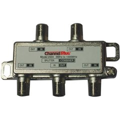 Channel Plus Model 2534 4-Way Splitter / Combiner 180-716