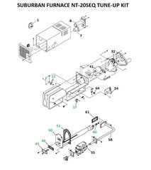 Suburban Furnace Model NT-20SEQ Tune-Up Kit