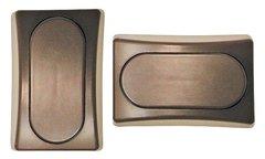 Brown Single Designer Wall Plate P9118
