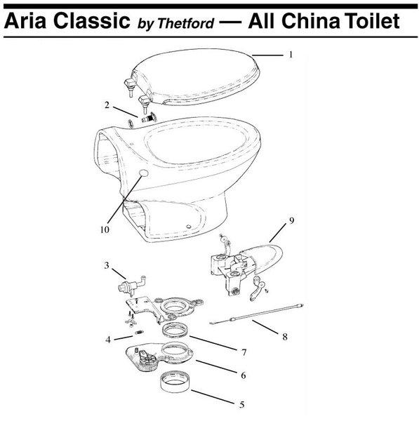 Thetford Toilet Blade Seal 19833 Pdxrvwholesale
