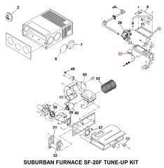 Suburban Furnace Model SF-20F Tune-Up Kit