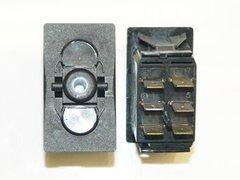 Carling Switch, Mom-Off-Mom, 6 Terminals, VLD1-20A-12V-6P