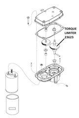 Barker Slide Out Motor Torque Limiter 23623