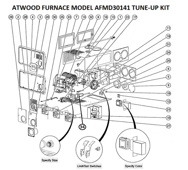 country coach wiring diagram atwood furnace model afmd30141 parts pdxrvwholesale  atwood furnace model afmd30141 parts pdxrvwholesale