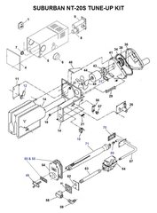 Suburban Furnace Model NT-20S Tune-Up Kit