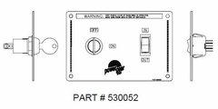 Power Gear Slide Room Switch, 530052