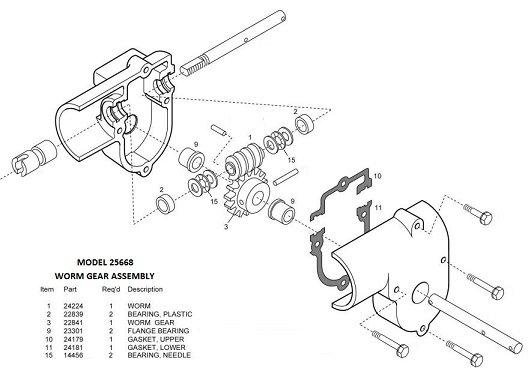 Barker Slide Out Model 25668 Rebuild Kit Pdxrvwholesale