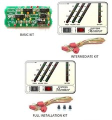 KIB Electronics Monitor Panel Model K21-2F Repair / Installation Kits