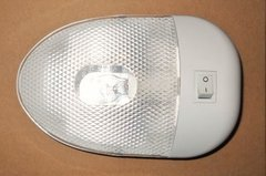 Single Ceiling / Bay Light, Single Bulb, White, L09-0093