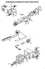 Suburban Furnace Model NT-20T Tune-Up Kit