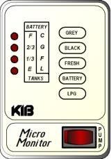 KIB Electronics Monitor Panel Model M22VW And M22VB Repair / Installation Kits