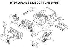 Atwood / HydroFlame Furnace Model 8935-DC-I Tune-Up Kit