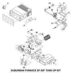 Suburban Furnace Model SF-25F Tune-Up Kit