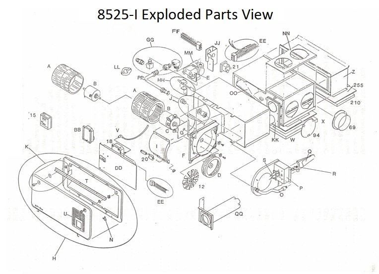 Atwood Furnace Parts View | pdxrvwholesale