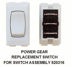 Power Gear Slide Room Switch Only