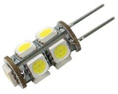 G4 Base 9 LED Bulb, Tower Pin, 100 Lumens, Bright White, 50529