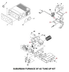 Suburban Furnace Model SF-42 Tune-Up Kit