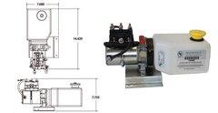 Lippert Pump Unit With Reservoir 141111