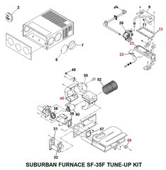 Suburban Furnace Model SF-35F Tune-Up Kit
