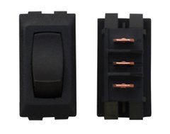 12 VDC Interior Switch, On / Off / On