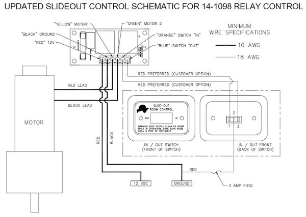 power gear slide out controller 14
