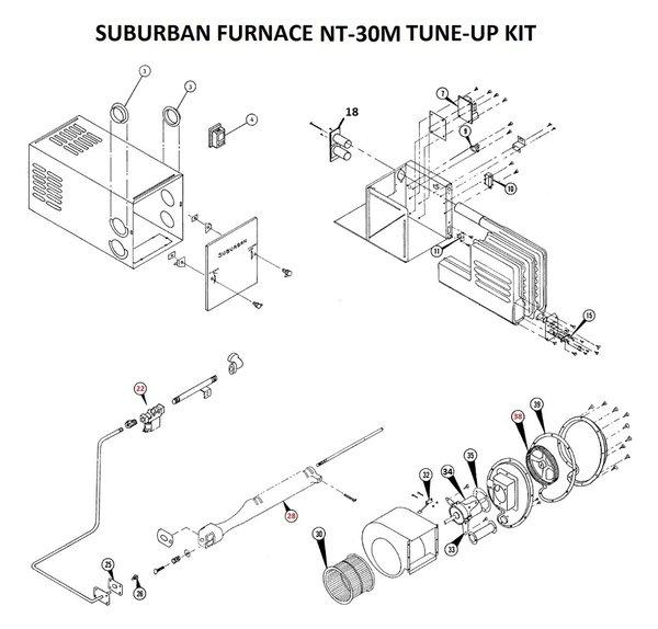 Suburban Furnace Model Nt 30m Parts Pdxrvwholesale