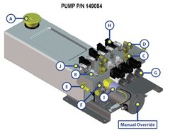Lippert Pump Assembly 149084