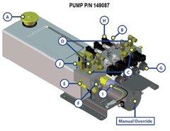 Lippert Pump Assembly 149087