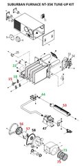 Suburban Furnace Model NT-35K Tune-Up Kit