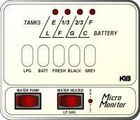 KIB Electronics Monitor Panel Model M24-1HWL Repair / Installation Kits