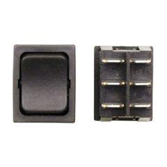 Slideroom Extend / Retract Switch, Black, S4-15C