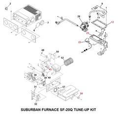 Suburban Furnace Model SF-20Q Tune-Up Kit