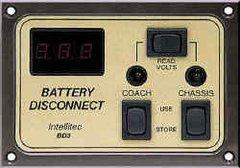 Intellitec Battery Disconnect Panel, BD3, 01-00066-003