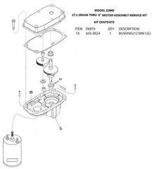 Barker Slide Out Bushing (12mm ID) 645-0024