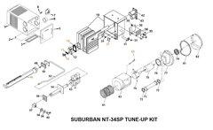 Suburban Furnace Model NT-34SP Tune-Up Kit