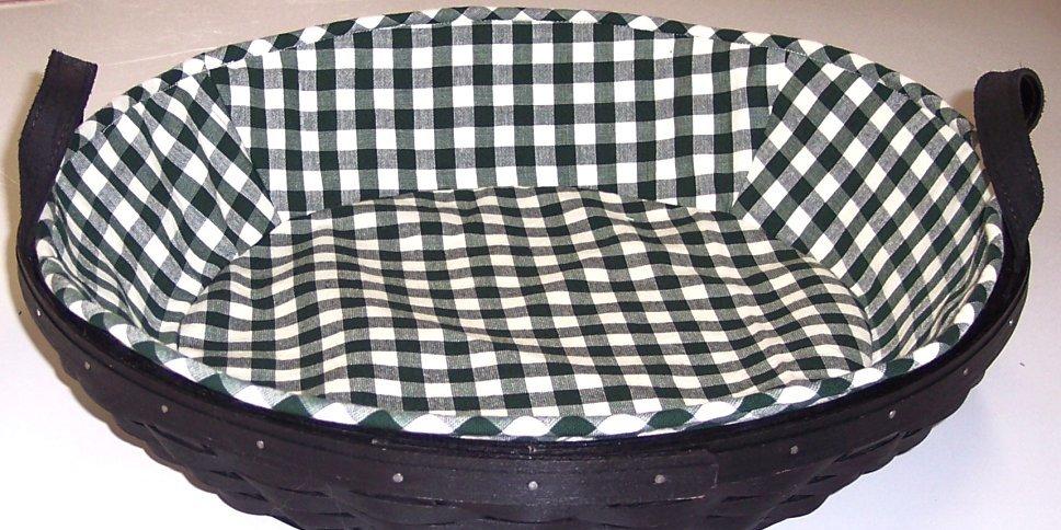 Handmade Longaberger Basket Liners : Basket liners for the longaberger baskets