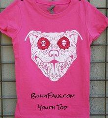 Bully De Los Muertos YOUTH T-shirt - Pink