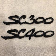 Supra Font SC300 / SC400 Black Emblems