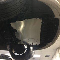 S063AL-2 (Heavy Duty Engine Aluminum Splash Shield for Lexus SC400)