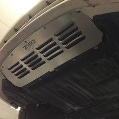 S032AL-3 (Front Bumper Vented Aluminum Splash Shield / Under Tray for Lexus SC300 & SC400)
