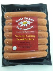 Natural Casing Frankfurters (14 oz pack)-MAY SALE!