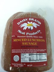 Minced Luncheon Sausage
