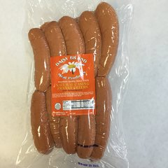 Jumbo Natural casing Frankfurters (5 lb bulk pack)-MAY SALE!