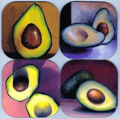 Avocados (set of 4 as pictured)
