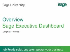 Sage 300 CRE - Executive Dashboard