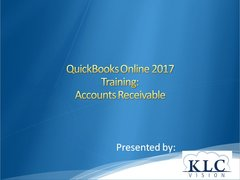 QuickBooks Online 2017- Accounts Receivable