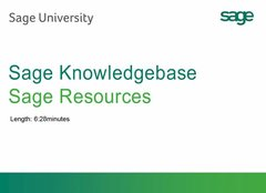 Sage 300 CRE - Knowledgebase